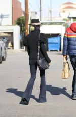 Laeticia Hallyday Spotted out & about in Santa Monica