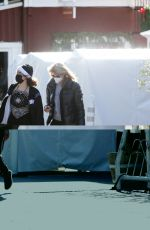 Laura Dern Step out to shop with her daughter Jaya Harper before ringing in the new year in Brentwood