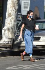 Lena Headey Out and about in Los Angeles