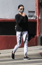Lucy Hale At a private gym in LA