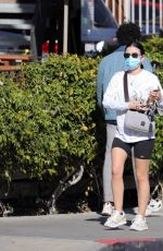 Lucy Hale Goes to the gym in LA