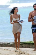 Lucy Watson Seen with her boyfriend on vacation in Barbados