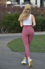 Maria Wild Workout in Chelsea