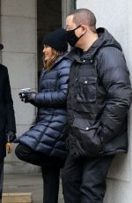 """Mariska Hargitay On the set of """"Law and Order: Special Victims Unit"""" in New York"""