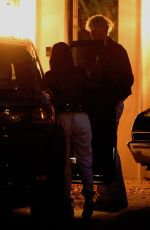 Megan Fox And Machine Gun Kelly Load up his car to move in to her place together in Los Angeles