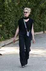 Melanie Griffith Enjoys her solo daily walk in Beverly Hills