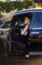 Miley Cyrus In Tank top and leggings shopping out in Calabasas