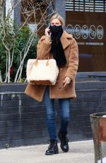 Nicky Hilton Bundled up while shopping in Manhattan