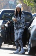Nina Dobrev Going to lunch in LA