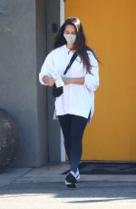 Olivia Munn Leaving a gym in Los Angeles