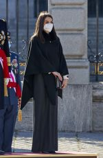 Queen Letizia Seen during the new year