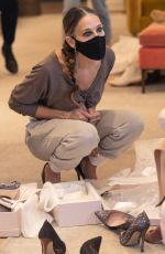 Sarah Jessica Parker At the SJP Collection Shoe Store in New Yor