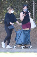 Sarah Michelle Gellar Leaving a gym and shops in Brentwood