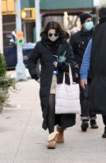 """Selena Gomez Seen heading to the movie set of """"Only Murders"""" in New York City"""