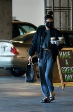 Shay Mitchell Out for grocery shopping in Los Angeles