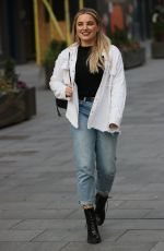 Sian Welby Seen at Capitol Radio studios in London