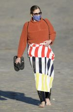 Sigourney Weaver Seen on a family day on the beach in Malibu