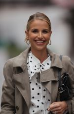 Vogue Williams (Matthews) Seen at Global Radio in London