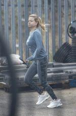 Zara Holland Seen back at work at her family business in Hull