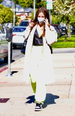 Addison Rae Keeps it classy & cute while out for a business meeting in Los Angeles