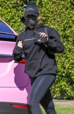 Addison Rae Seen heading to a pilates class in West Hollywood