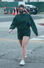 Addison Rae Shows off her legs while spotted running errands in West Hollywood