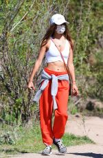 Alessandra Ambrosio Hiking out in Santa Monica