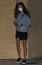 Alessandra Ambrosio Seen leaving Nobu in Malibu