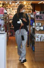 Alessandra Ambrosio Shopping at Brentwood Beauty Center