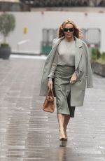 Amanda Holden Pictured at Global Radio in London