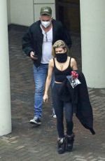 AnnaLynne McCord & Dominic Purcell Seen in Vancouver, Canada
