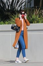 Anne Hathaway Out in Santa Monica