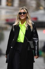 Ashley Roberts Arrives at Global Radio in London