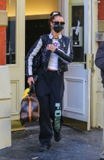 Bella Hadid Leaving her apartment in NY
