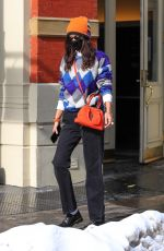 Bella Hadid Steps out for lunch in New York