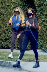 Cara Delevingne & Kaia Gerber Out after a workout in Los Angeles