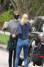 Cara Delevingne & Kaia Gerber Sharing a morning workout in Los Angeles