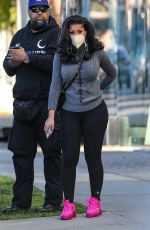 Cardi B Goes shopping at Couture Kids on Robertson in West Hollywood