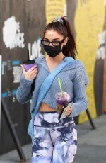 Chantel Jeffries Leaves Dogpound gym in West Hollywood