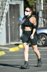 Charli XCX Seen heading to a dance studio in Los Angeles
