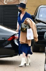 Charlize Theron Leaving Nobu with her family in Malibu