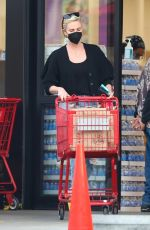Charlize Theron Spotted making a Trader Joe