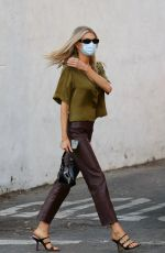 Charlotte McKinney Out and about in Santa Monica