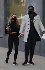 Chrishell Stause & Keo Motsepe Out in West Hollywood