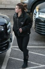 Coleen Rooney Out for grocery shopping in Cheshire