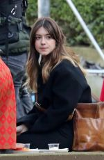 Daisy Edgar-Jones On a filming location of 'Fresh' in Vancouver