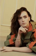 Daisy Ridley - Who What Wear - February 2021
