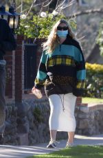 Elsa Hosk Spotted out for a morning stroll in Pasadena