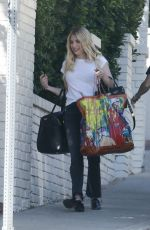 Emma Roberts Heads to a photoshoot in LA