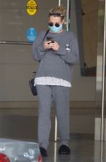 Emma Roberts Looks casual leaving a meeting in Century City